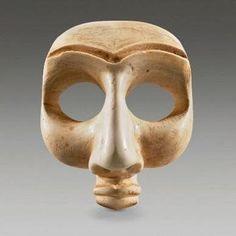 Sumerian mask from Mesopotamian, c. 2700 BCE