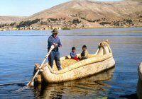 Le Lac Titicaca, lac d'altitude Pérou