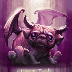 Caring for Your Senior Dog Animals And Pets, Funny Animals, Cute Animals, Mops Tattoo, Pug Cartoon, Carlin, Pug Art, Pug Pictures, Dog Illustration