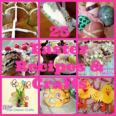 25 Easter Recipes & Crafts {Round-Up} - Older Mommy Still Yummy