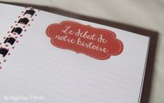 .. Joli carnet- Pour Tiffanie
