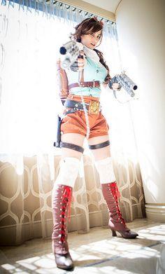 Steampunk Lara Croft   Flickr - Photo Sharing!