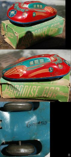 Space Vehicles - PARADISE CAR - SANYO - JAPAN - ALPHADROME ROBOT AND SPACE TOY DATABASE