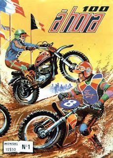100 a Hora - Todos os Numeros   Capa do #1  100 à Hora era mais uma publicação da Agência Portuguesa de Revistas (APR) publicada na década de 70 e 80 ao estilo Michell Vaillant mas orientada para os amantes do desporto motorizado de 2 rodas