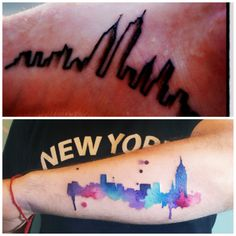 20 Original Tattoos for City Dwellers - New York, New York | Guff