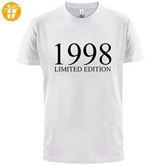 1997 Limierte Auflage / Limited Edition - 20. Geburtstag - Herren T-Shirt -  Lila - L - T-Shirts mit Spruch | Lustige und coole T-Shirts | Funny T-S…