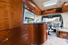 Leisure Travel Vans - Serenity Kitchen, Storage Above, Swivel Seats, Skylight