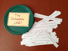 Intentionally Katie: The Consequence Jar