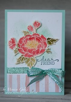 STAMPIN'UP! UK- Top UK Demonstrator Monica Gale-01405 862902-DN14 9QZ: Birthday Blooms Stampin
