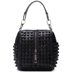 ec5cfed553fa women bag 2017 new handbag leather sheepskin bag Studded Leather Shoulder  Bags Satchel Bag high quality women s fashion handbags