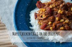 Maple Chicken Chili
