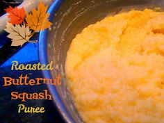 Roasted Butternut Squash Puree (Holiday Sides) | from Go Ahead... Take A Bite! #Puree #HolidayRecipes #Butternut Squash #Homemade  #ChristmasDinner  #SpecialMeals  #HolidayMeals #HolidaySides