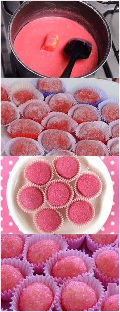 PESSOAL VEJAM QUE DELICIA PARA SUA FESTA!! BICHO DE PÉ- FÁCIL VEJA AQUI>>>O primeiro passo para preparar o doce bicho de pé é misturar o leite condensado, a gelatina em pó  #receita#bolo#torta#doce#sobremesa#aniversario#pudim#mousse#pave#Cheesecake#chocolate#confeitaria# Mousse, Raspberry, Cheesecake, Muffin, Chocolate, Fruit, Lima, Breakfast, Desserts