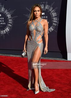 Recording artist Jennifer Lopez attends the 2014 MTV Video Music Awards at The Forum on August 24, 2014 in Inglewood, California.