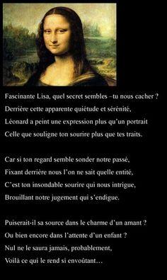 le sourire de la Joconde - 1.1. Mes poèmes ... club.doctissimo.fr475 × 797Recherche par image le sourire de la Joconde
