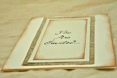 book page invites