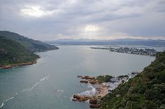 View inland from the Knysna Heads, South Africa. South African Wine, Famous Gardens, Knysna, Different Holidays, Windsurfing, Enjoying The Sun, International Artist, Back In Time, The Visitors
