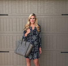 Nordstrom Anniversary Sale dress. Celine bag. #nsale