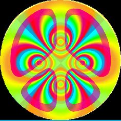 bright psychedelic peace