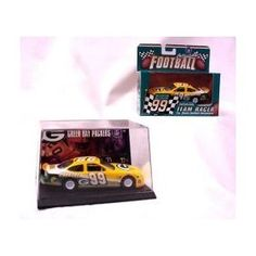 Green Bay Packers 1999 Ertl NFL Diecast 1/43 Scale Stockcar Team Racer Football Team Collectible by ERTL  $12.99