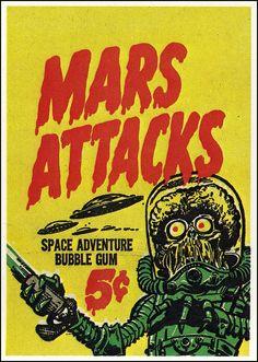Mars Attacks - Sammelkarten (topps)