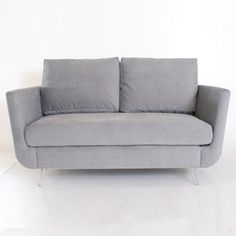 Luca Loveseat Porto Gunmetal now featured on Fab.