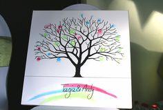 Hochzeitsbaum zum kostenlosen Download