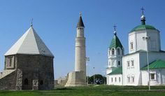 Bolghar (Tatar: Cyrillic Болгар, Latin Bulgar, Bolgar, Bolğar, Chuvash: Пăлхар) was intermittently capital of Volga Bulgaria from the 8th to the 15... Get more information about the Bolgar Historical and Archaeological Complex on Hostelman.com #attraction #Russia #world heritage site #travel #destinations #tips #packing #ideas #budget #trips