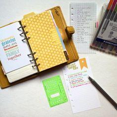 filofax friday | hello sunshine and a bucket list with iloveitallwithmonikawright.com