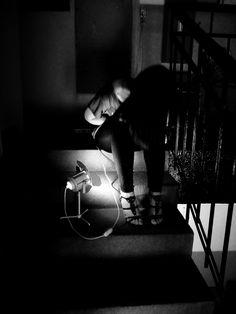 friend, light, stairs ... #ANNsPhoto