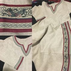 Trim and embroidery ideas for Viking dress