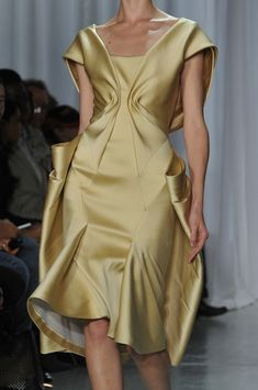 Colorful Days | Zac Posen at New York Fashion Week Spring 2014