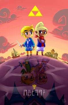 The Legend of Zelda: Wind Waker / Link and Tetra pixiv
