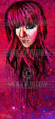 Painted Visions by Sheila D. Tillery.....Find On Me Facebook! https://www.facebook.com/pages/Sheila-D-Tillery-The-Damsel-In-Decease/149343631787233