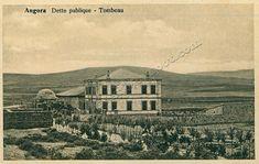 1900'lü yılların başı-Düyun-u Umumiye Binası ve Kızılbey Türbesi