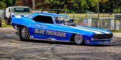 Blue Thunder funny car