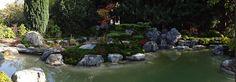 in Zusammenarbeit mit der Firma KOKENIWA gestalteten wir in Gießen  einen Moosgarten mit Teich und Wasserfall Japanese Garden Design, Japanese Gardens, Pond, Golf Courses, Beautiful, Water, Beautiful Images, Garden Art, Water Pond