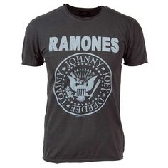 ... Shirts › Amplified › Amplified Mens Vintage Ramones T-Shirt