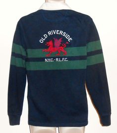 Ralph Lauren S Slim Fit Rugby Shirt NYC Dragon Embroidered  PoloRalphLauren   PoloRugby Embroidered Clothes c325a5f3e88