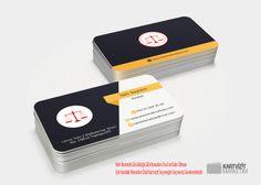 Özel Avukat Kartvizit Modeli 2
