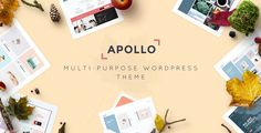Apollo - Responsive Multi-Purpose WordPress Theme