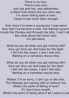 Senses Fail: Lifeboats Lyrics