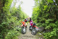 #dirtbikes #motorcycles, #engagement, trails