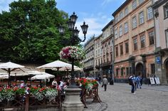 L'viv – the Ensemble of the Historic Centre, Ukraine. UNESCO photo by Silvan Rehfeld Ukraine, People Around The World, Around The Worlds, Heritage Center, World Heritage Sites, Centre, Places To Visit, Street View, Europe