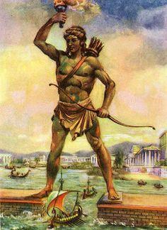 Hoje comemora-se o dia do deus grego Apolo. Ele era a melhor e mais brilhante divindade grega. Era tão habilidoso quanto belo. Resplandecente.