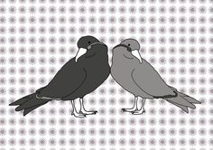 Give Me Love Grey design