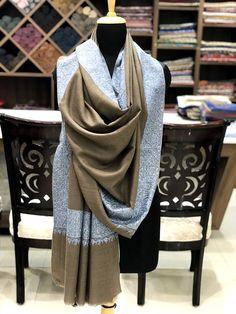 Pure Pashmina Shawl Wrap, Hand Embroidery, Pure Cashmere Shawl, Cashmere  Wrap, Sozni Hand Embroidery, Kashmiri Work, Sozni Work, Beige Shawl b9910d0cd14