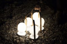 FollowMe portable, rechargeable & led lamp by Inma Bermúdez