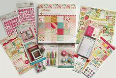 Crate Paper  [Oh Darling]  Paper Pad & Embellishments (Set A)  Save 60% #CratePaper