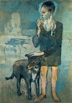 Picasso periode bleue